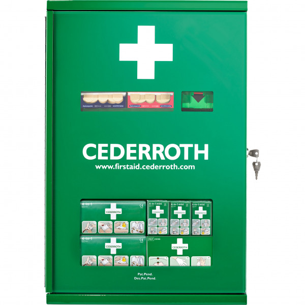 First Aid Kast dubbel deur